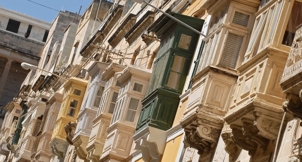 Malta: de balkons van Valletta | Malta & Gozo