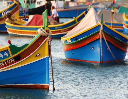 Vissersbootjes Malta: de kleurrijke vissersbootjes van Malta | Malta & Gozo