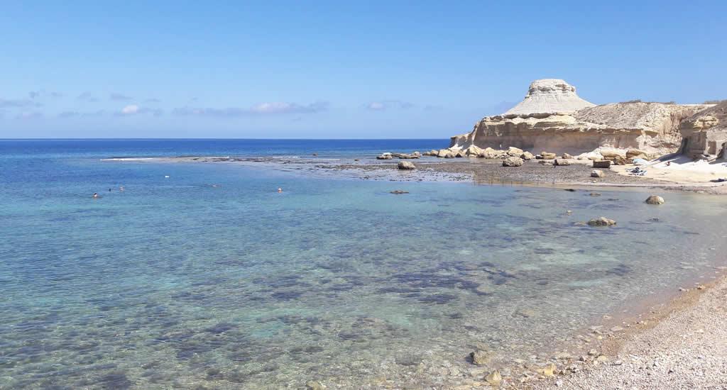 Zwemmen op Gozo, de stranden van Gozo