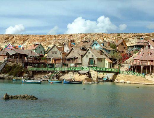 Popeye Village, Malta: een leuk dagje uit op Malta